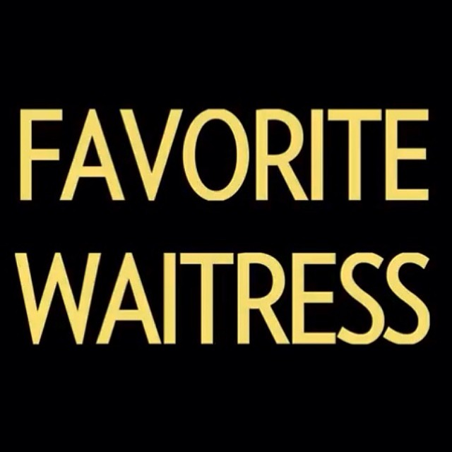 Our new album FAVORITE WAITRESS due out JUNE 17th!!